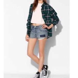 UO Tomgirl relaxed jean shorts